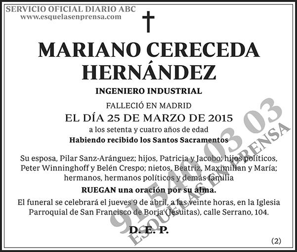 Mariano Cereceda Hernández